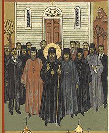 Saint Tikon in 1907
