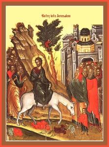 Entance Into Jerusalem