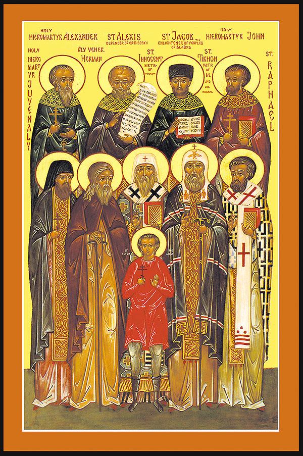 All Saints of North America