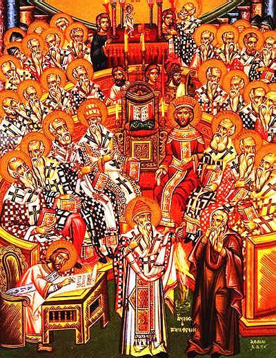 from Wikipedia Commons, http://upload.wikimedia.org/wikipedia/commons/d/dd/THE_FIRST_COUNCIL_OF_NICEA.jpg