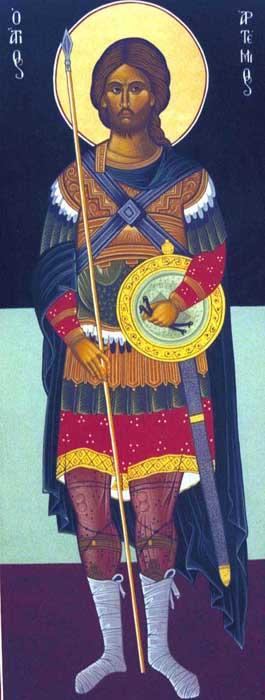 Saint Artemios the Great-Martyr of Antioch