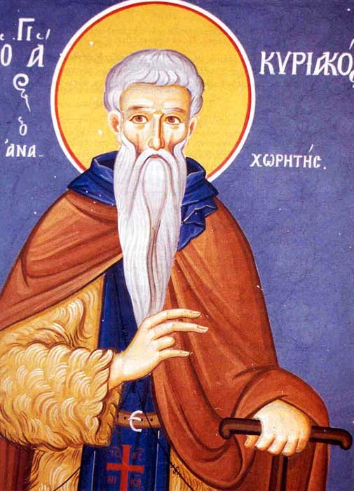 Saint Kyriakos the Solitary