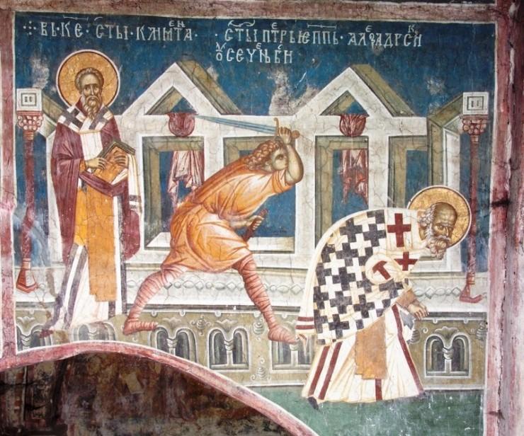 Saint Clement and Saints Peter