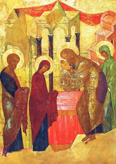The Presentation of Our Lord by Rublev