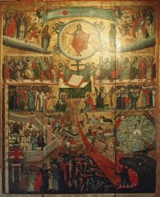 Seventeenth Century Icon of the Last Judgement