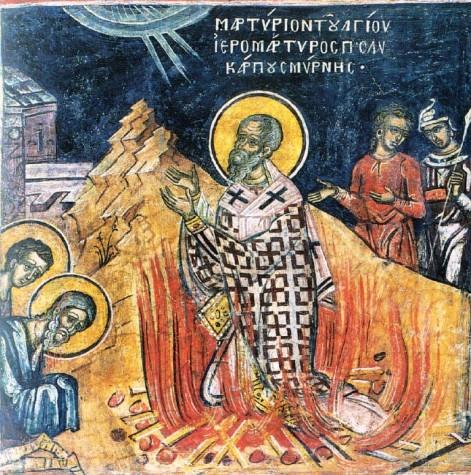 The Martyrdom of Saint Polycarp