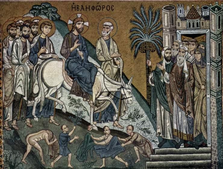 Entrance Into Jerusalem Icon